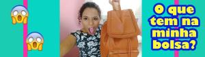 Tag: O que tem na minha bolsa por Tamires Silva